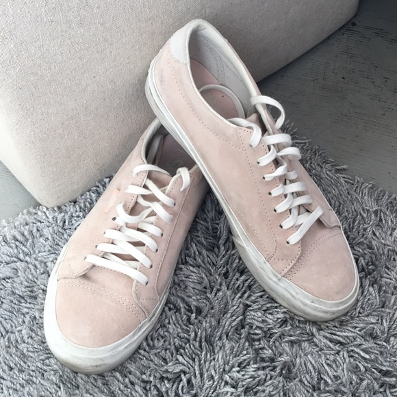 d2681f9cb0 Blush Pink Suede Vans. M 5becb076aa8770dd6c263311. Other Shoes ...